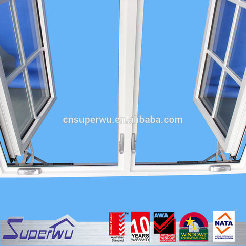 Australian standard aluminum window designs in kerala new window grill design casement door & window on China WDMA