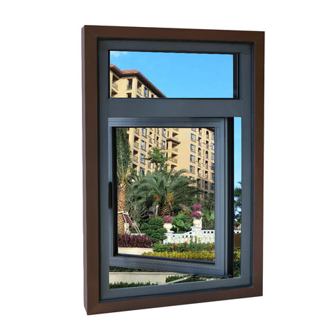 Australian standard lowes aluminum double glazed sliding windows casement window bifold window on China WDMA