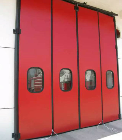 Automatic aluminum folding doors exterior bifold door on China WDMA