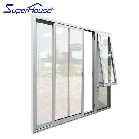 Bahama Panama Caribbean zone market hurricane proof sliding aluminium window doors on China WDMA