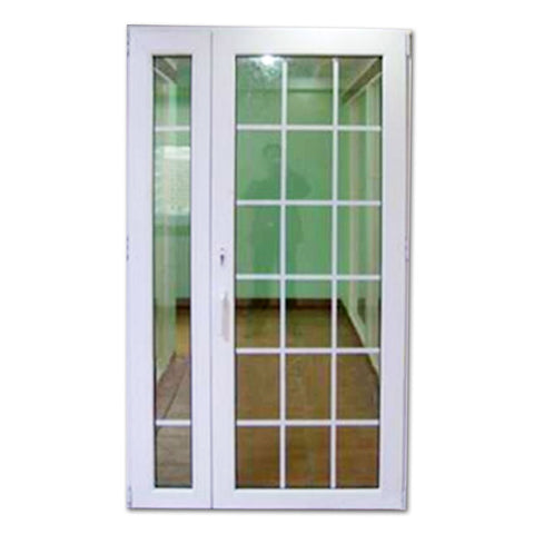 Bathroom pvc shutter fixed shutter windows profile thermal break PVC casement window for home on China WDMA