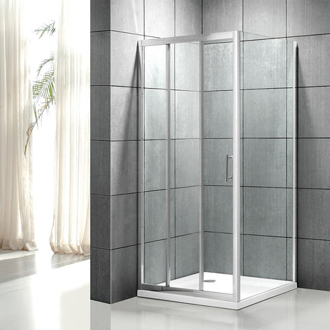 Bathroom sliding shower screen 3 panel shower door with tempered glass on China WDMA
