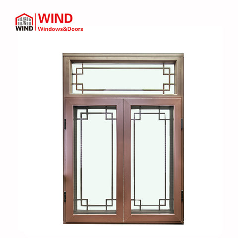 Best Soundproof American Style Garden Windows Metal Clad Wood Doors on China WDMA