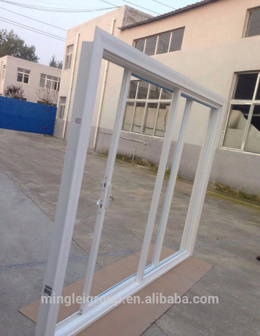 Best exterior patio balcony pvc sliding glass doors on China WDMA
