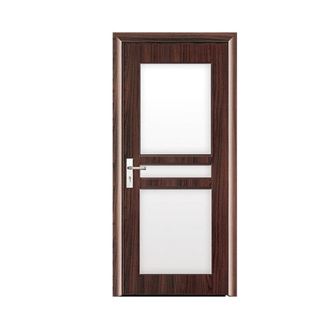 Best exterior patio balcony pvc swing glass doors on China WDMA