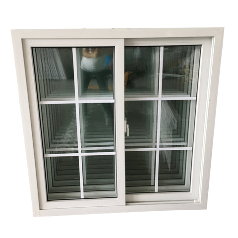 Best quality upvc windows double glass hurricane impact sliding windows on China WDMA