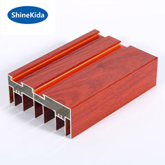 Best selling aluminium window extrusions profile on China WDMA