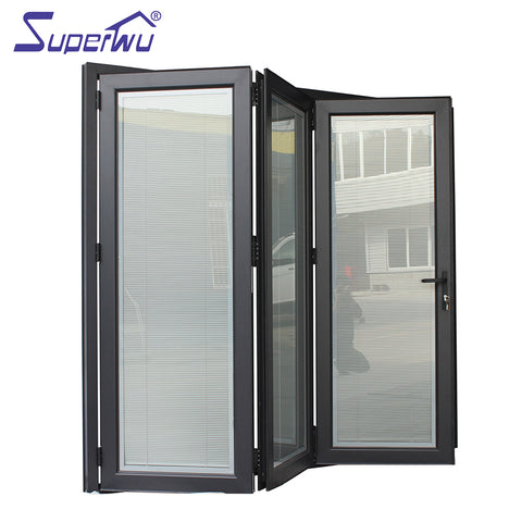 Bi fold screen door aluminium bifold exterior accordion doors on China WDMA