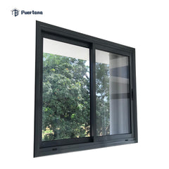 WDMA Best Selling 60x48 Windows - Black Pictures Aluminum Sliding Window Door With Grill Inside Price Philippines