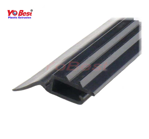 Black Vinyl Adjustable Width Fire Resistant Sliding Screen Door Bug Strip Seal for Home on China WDMA