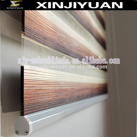 Blackout zebra vertical colored rainbow window striped roller blinds on China WDMA
