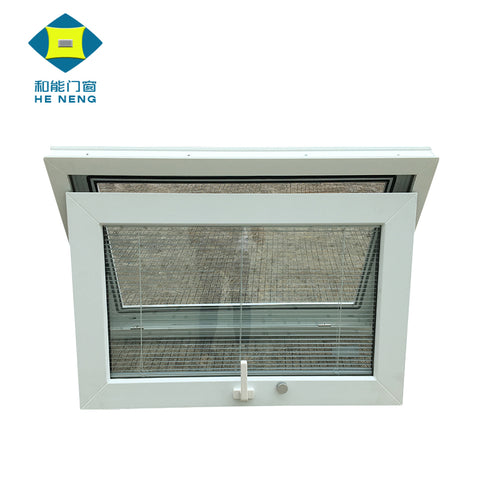 Blind Inside PVC double Small Glass window on China WDMA