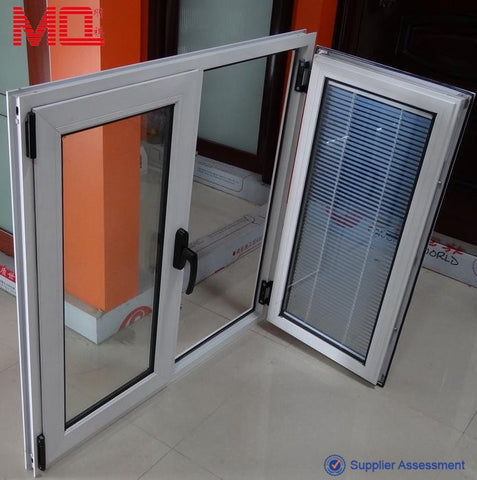 Blind inside double glass windows pane on China WDMA