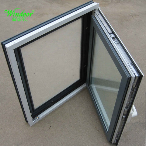 Building material windows and doors of Aluminum frame double glazed glass iron window grille design windows and doors on China WDMA