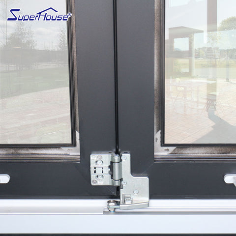 CSA/AAMA aluminium window double glazed folding glass windows on China WDMA