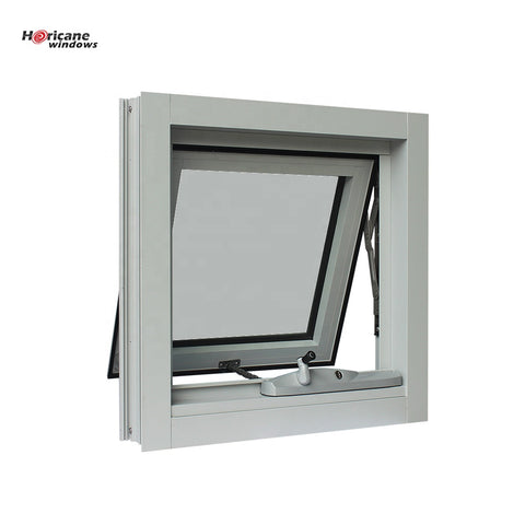 CSA NFRC AS2047 Standard gray aluminum chain winder awning windows for sale on China WDMA