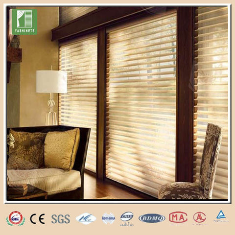 Cafe patio doors with blinds on China WDMA
