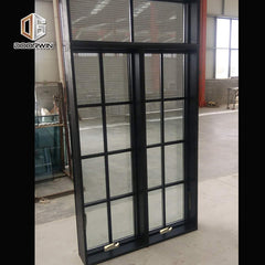 California hot sales NFRC NAMI certified alu-wood Crank out windows on China WDMA
