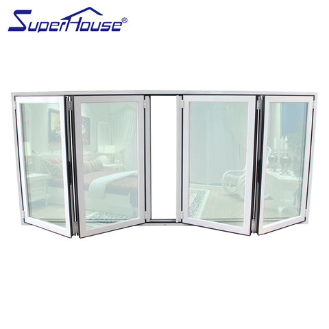 Canadian standard bifold doors windows aluminium window for small commercial buildings on China WDMA
