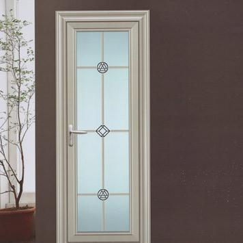 Casement Swing UPVC PVC Exterior Solid Modern Door Design French Door With Security Screen Blind on China WDMA