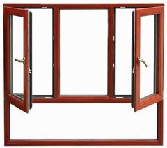 Casement Windows Use For Toilet Windows Decorative Exterior Shutters Industrial Aluminum Profile on China WDMA