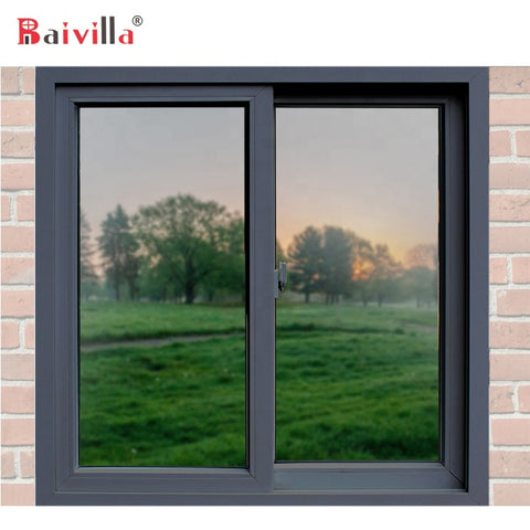Cheap And High Quality Aluminum Sliding Window Price Philippines Frame on China WDMA