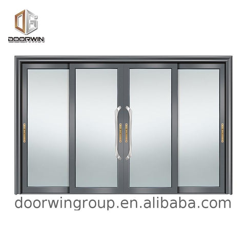 Cheap Factory Price hurricane resistant sliding patio doors highest rated heavy duty weather stripping for on China WDMA