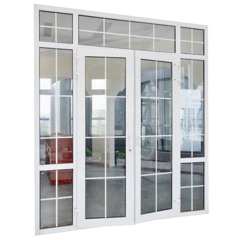 Cheap Laminated Glass UPVC Casement Door Price on China WDMA
