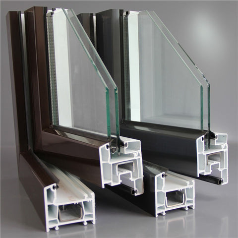 Cheap Price Europe Style UPVC Casement Window Frame UPVC Window on China WDMA