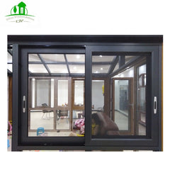 Cheap Storm Aluminum Frame Sliding Glass Roller Window For Sale on China WDMA