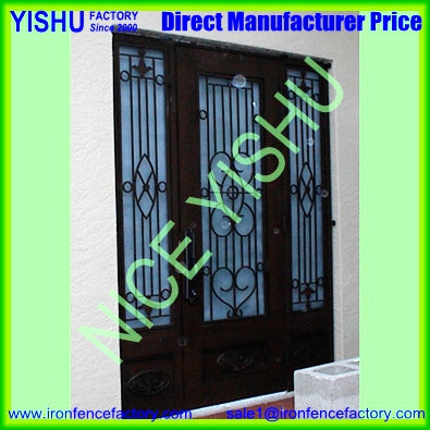 Cheap Wrought Iron Security Screen Interior Door on China WDMA