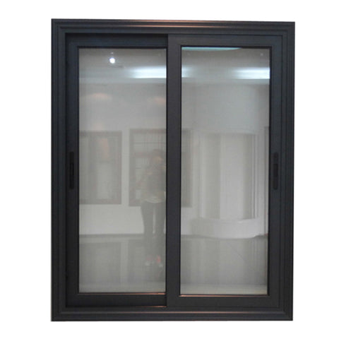 Cheap house picture double glazed tempered glass aluminum sliding window frame price aluminium on China WDMA
