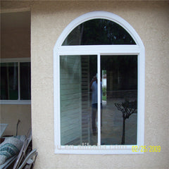 Cheap price aluminium half circle window in China