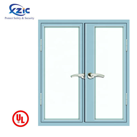 Cheap price philippines style picture aluminum frame sliding 1 hour fire rated window and door on China WDMA