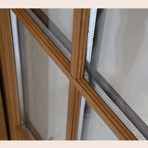 Cheap vintage wood windows window frame upvc vs wooden cost on China WDMA