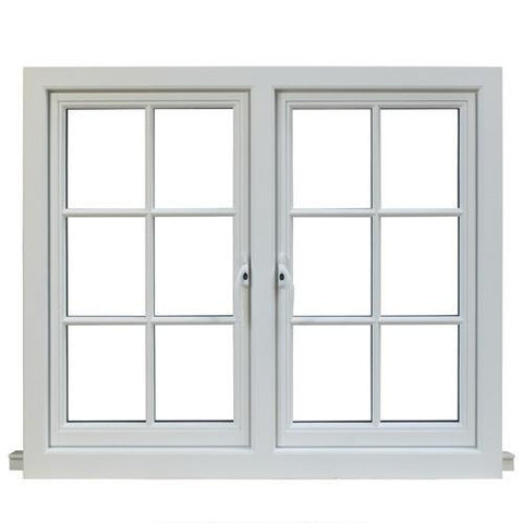 Cheap vinyl sliding windows for export america, PVC windows and doors on China WDMA