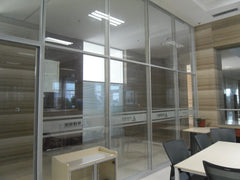 China Amazing & beauty decorative Aluminium Modern glass partition wall with sliding doors competitive Prices on China WDMA