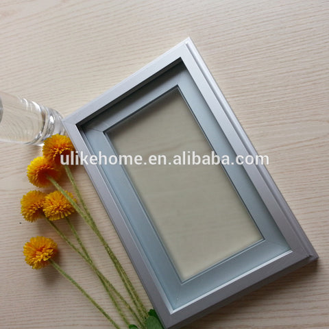 China Anodized Aluminum Frame Kitchen Cabinet Glass Doors wardrobe frame profiles for window and doors on China WDMA