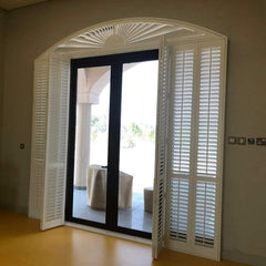 China Best Price French Shutters Wooden Windows Shutters on China WDMA