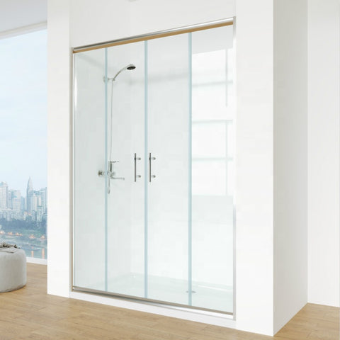 China Hot Sale Cheap 48 Inch Sliding Glass Shower Door on China WDMA