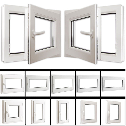China Manufacture Sale UPVC/PVC Casement Glass Doors Price List With UPVC Windows on China WDMA