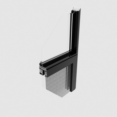 China Manufacturer hurricane impact push out plastic swing out upvc high quality Plastic steel Windows on China WDMA