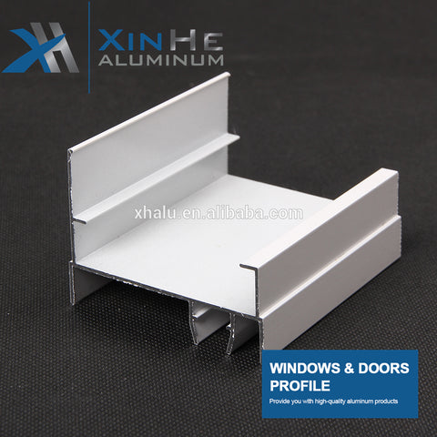 China Sihui Manufacturer Selling Rail Track Aluminium Profile For Window Sliding Rail Door Sunlight Room Curtain Wall on China WDMA