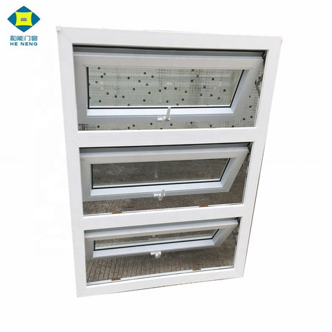 China Supplier PVC Awning Top Hung Casement Windows on China WDMA