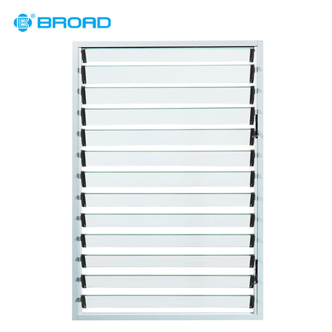 China Supplier price adjustable basement glass louvres windows on China WDMA