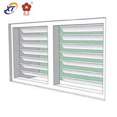 China Suppliers Adjustable Jalousie Windows Aluminium Alloy Louver Window Foshan Factory on China WDMA