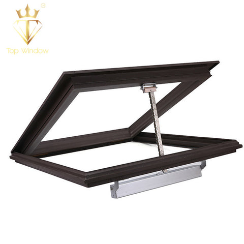 China Waterproof Manual Automatic Aluminum Skylight Awning Blinds Glass Roof Window Roof Skylight on China WDMA