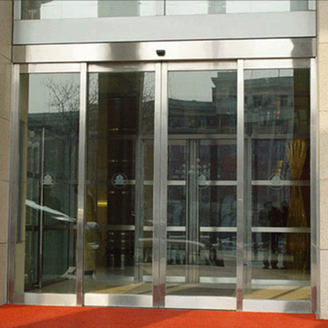 China commercial automatic sliding glass doors cost on China WDMA