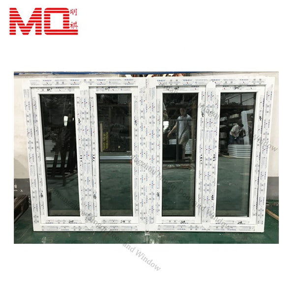 China factory tempered double glass window and doors pvc upvc casement windows in guangzhou on China WDMA