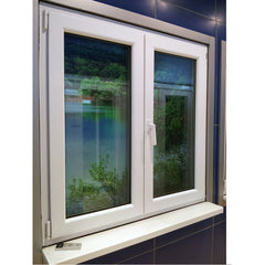 China golden supplier large glass pvc window bathroom sliding windows for mobile home on China WDMA